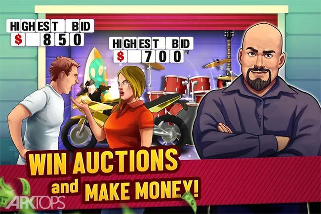 Bid Wars – Storage Auctions v2.15.1 دانلود بازی جذاب نبرد در مزایده + مود