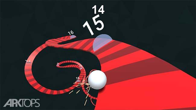 Twisty Road! v1.9.5 دانلود بازی جاده ی پر پیچ و خم