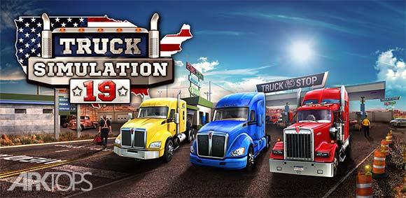 Truck Simulation 19 دانلود بازی شبیه سازی کامیون