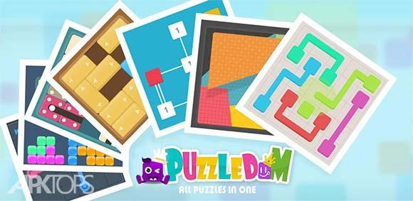 Puzzledom – classic puzzles all in one دانلود بازی انواع پازل های کلاسیک