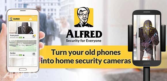 Alfred Home Security Camera دانلود برنامه دوربین امنیتی منزل الفرد