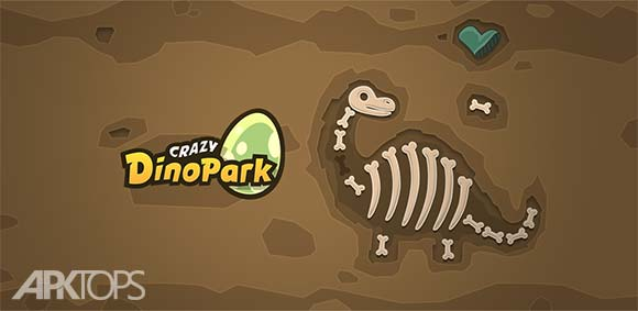 Crazy Dino Park دانلود بازی پارک دایناسور دیوار وار