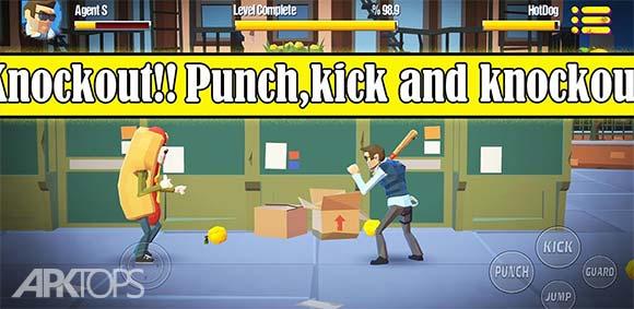 City Fighter vs Street Gang دانلود بازی مبارزین شهر در مقابل دسته ی اوباش