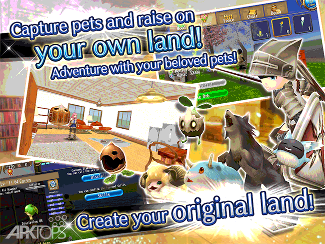RPG Toram Online v3.2.60 دانلود بازی نقش آفرینی تورام انلاین