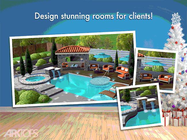 Home Design Makeover! v2.1.9g دانلود بازی از نو طراحی کرده خانه + مود