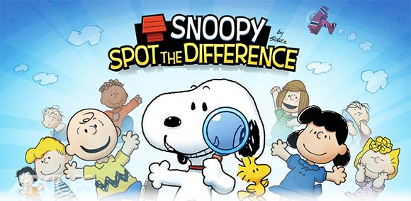 Snoopy: Spot the Difference دانلود بازی اسنوپی پیدا کردن تفاوت ها