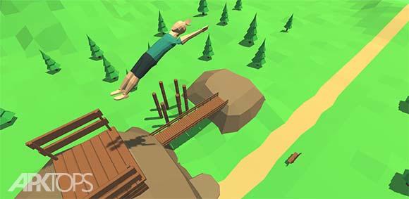 Flip Trickster - Parkour Simulator دانلود بازی شبیه سازی پارکور بندباز
