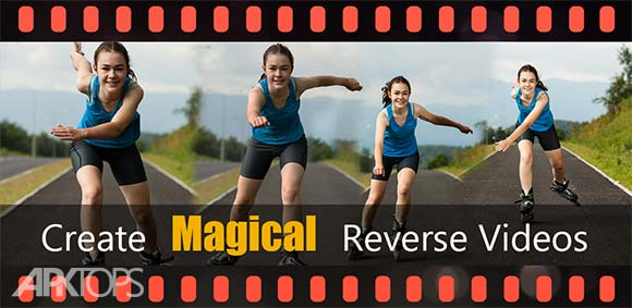 Reverse Video Movie Camera Fun دانلود برنامه معکوس کردن پخش فیلم