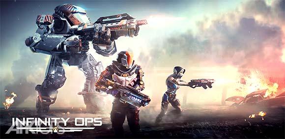 INFINITY OPS: Sci-Fi FPS دانلود بازی نیرو های بی نهایت مبارزه ی علمی تخیلی