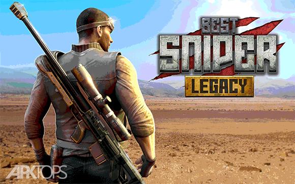 Best Sniper Legacy: Dino Hunt & Shooter 3D دانلود بازی میراث بهترین تک تیرانداز شکارچی دایناسور