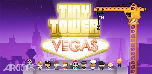 Tiny Tower Vegas <strong> دانلود</strong> , بازی برج <strong> کوچک</strong> , وگاس
