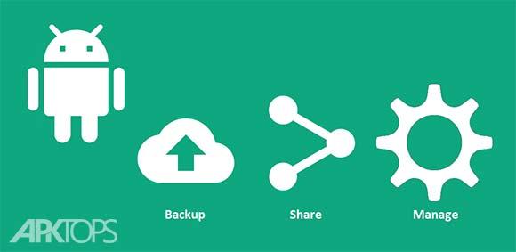 App Backup & Share Pro دانلود برنامه پشتیبان گیری از برنامه ها و اشتراک گذاری ان ها