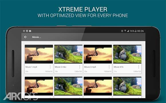 XPlayer HD Media Player دانلود برنامه پخش کننده تصویری ایکس پلیر