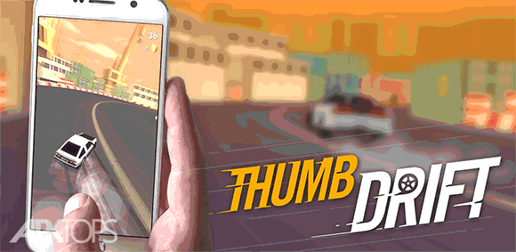 Thumb Drift — Fast & Furious Car Drifting Game دانلود بازی دریفت کشیدن با انگشت