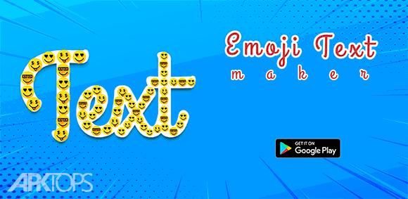 Emoji Text Maker دانلود برنامه ساخت تصاویر ایموجی