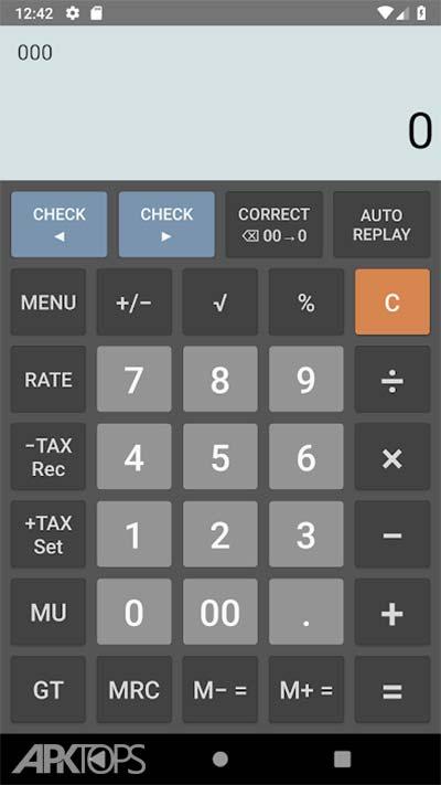 Citizen Calculator Pro v1.7.4 دانلود برنامه ماشین حساب سیتیزن