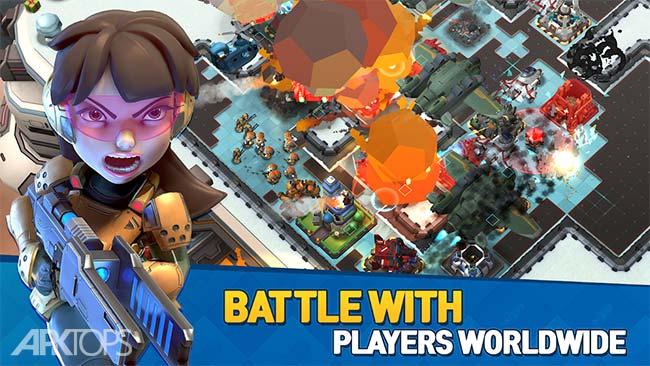 Mad Rocket: Fog of War – New Boom Strategy! v1.14.1 دانلود بازی موشک دیوانه جنگ مه آلود