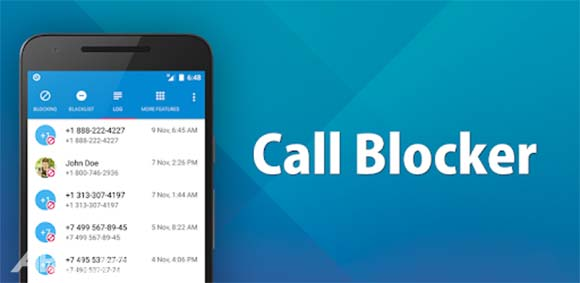 Call Blocker دانلود برنامه مسدود کردن تماس ها
