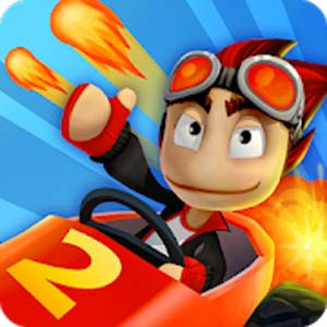 Beach Buggy Racing 2 v1.4.2 دانلود بازی مسابقه حشرات در ساحل2 + مود اندروید