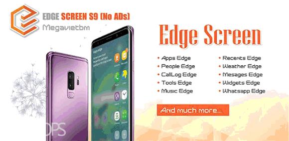 Edge Screen S9 دانلود برنامه لبه تنظیمات مانند اس9