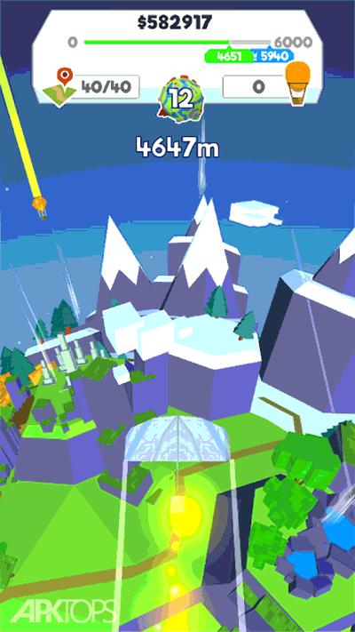 Paper Plane Planet v1.106 دانلود بازی سیاره هواپیمای کاغذی + مود اندروید