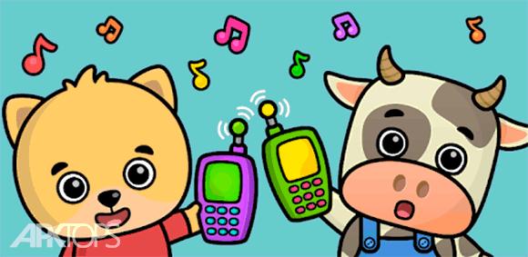 Baby phone - games for kids دانلود بازی گوشی موبایل کودکان