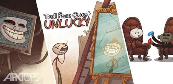 Troll Face Quest Unlucky دانلود بازی جستجوی نحس ترول فیس