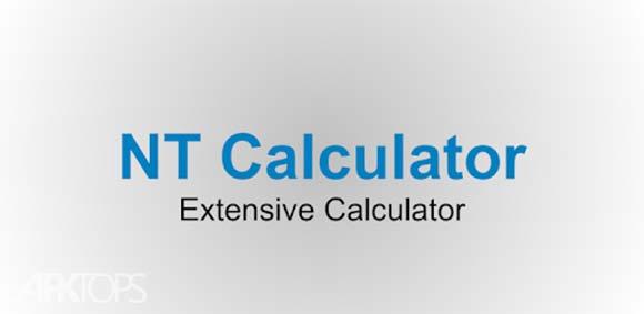 NT Calculator - Extensive Calculator Pro دانلود برنامه ماشین حساب کامل