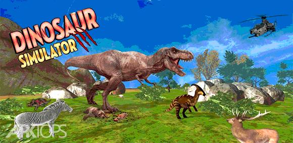 Dinosaur Games Simulator 2018 دانلود بازی شبیه سازی دایناسور