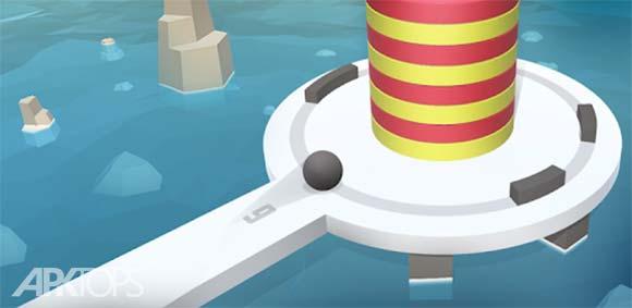 Fire Balls 3D دانلود بازی توپ های اتشین