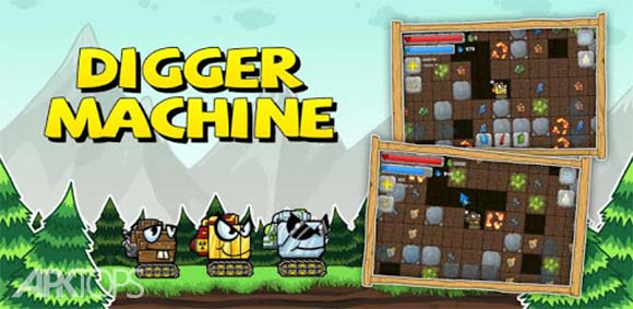 Digger Machine: dig and find minerals دانلود بازی ماشین حفاری