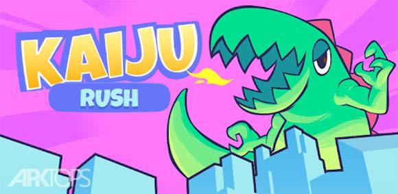 Kaiju Rush دانلود بازی حمله ی کایجو