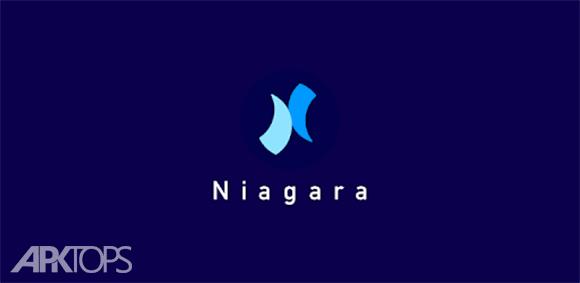 Niagara Launcher fresh & clean دانلود برنامه لانچر نیاگارا