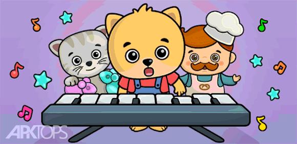 Kids piano دانلود بازی پیانوی کودکان