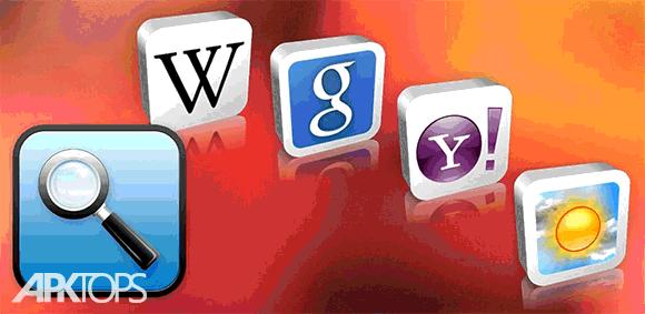 Quick Search Widget دانلود برنامه ویدجت جستجوی سریع