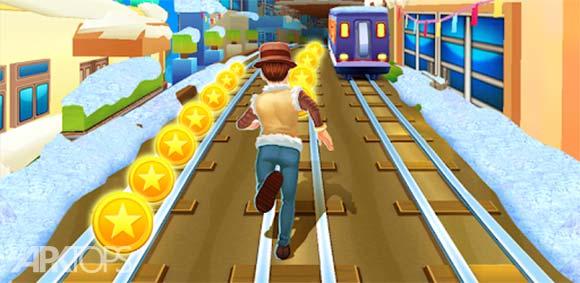 Subway Princess Runner دانلود بازی شاهزاده دونده در مترو