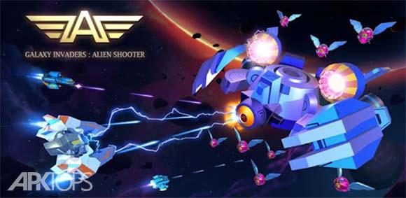 Galaxy Invaders: Alien Shooter دانلود بازی مهاجمان کهکشان
