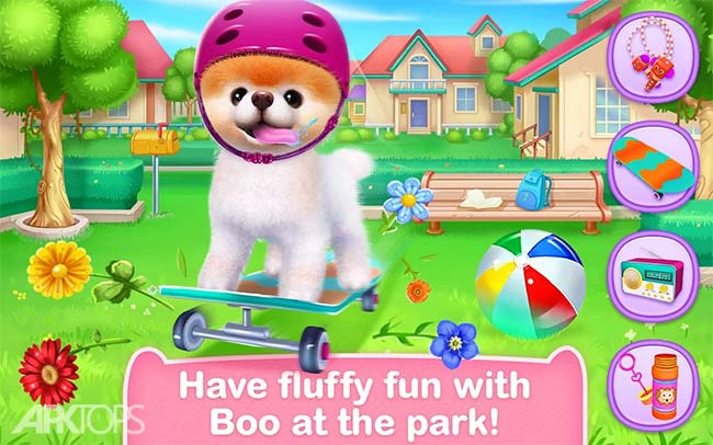 Boo – The World's Cutest Dog v1.7.0 دانلود بازی بو زیباترین سگ جهان