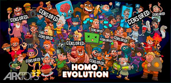 Homo Evolution: Human Origins دانلود بازی تکامل انسان ها