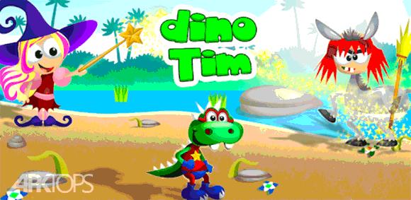 Dino Tim Full Version: Basic Math for kids دانلود بازی تیم دایناسور اموزش های پایه ریاضی برای کودکان