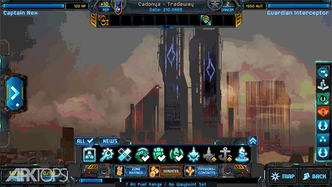 Star Traders: Frontiers v2.5.25 دانلود بازی معامله گران ستاره