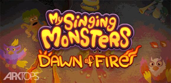 My Singing Monsters: Dawn of Fire دانلود بازی هیولاهای آواز خوان من