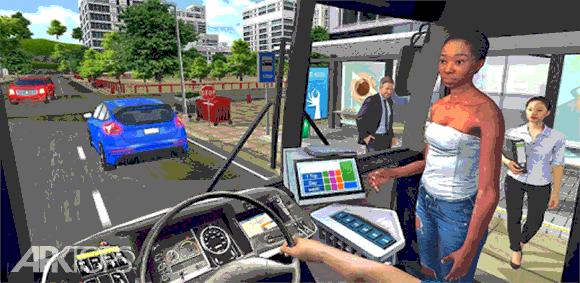 Bus Simulator 2018: City Driving دانلود بازی شبیه سازی اتوبوس رانندگی در شهر