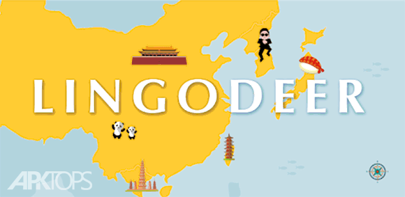 LingoDeer: Learn Japanese, Korean, Chinese & more دانلود برنامه آموزش زبان های اسیایی