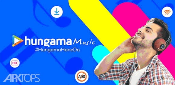 Hungama Music - Stream & Download MP3 Songs دانلود برنامه دانلود موسیقی هانگاما