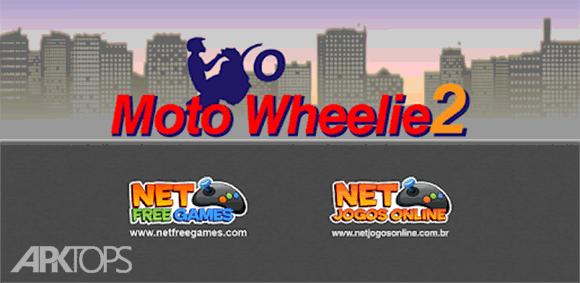 Moto Wheelie 2 دانلود بازی موتور ویلی2
