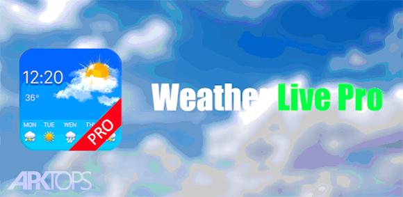Weather Radar Pro دانلود برنامه هواشناسی رادار