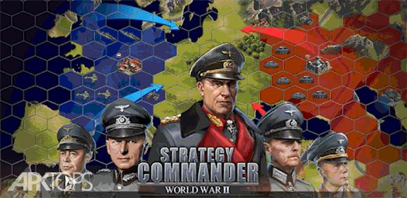 WW2: Strategy Commander Conquer Frontline دانلود بازی فرماندهی استراتژیک تسخیر خط مقدم