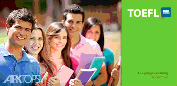 Learn English : TOEFL Vocabulary Builder دانلود برنامه یادگیری لغات تافل