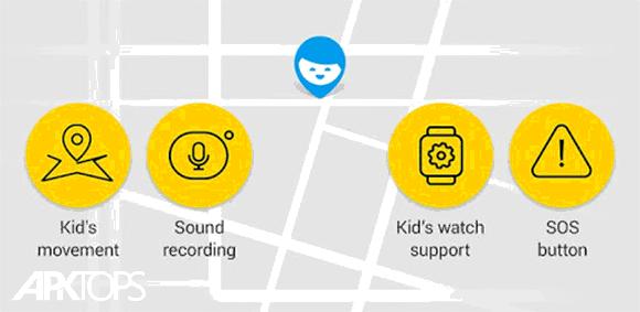 Find My Kids: Child GPS-watch & Phone Tracker دانلود برنامه رهگیری موقعیت گوشی فرزندان